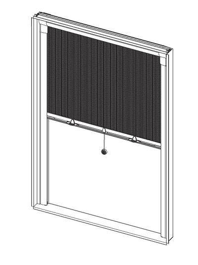 Moustiquaire Enroulable Pour Fenêtre Sans Perçage
