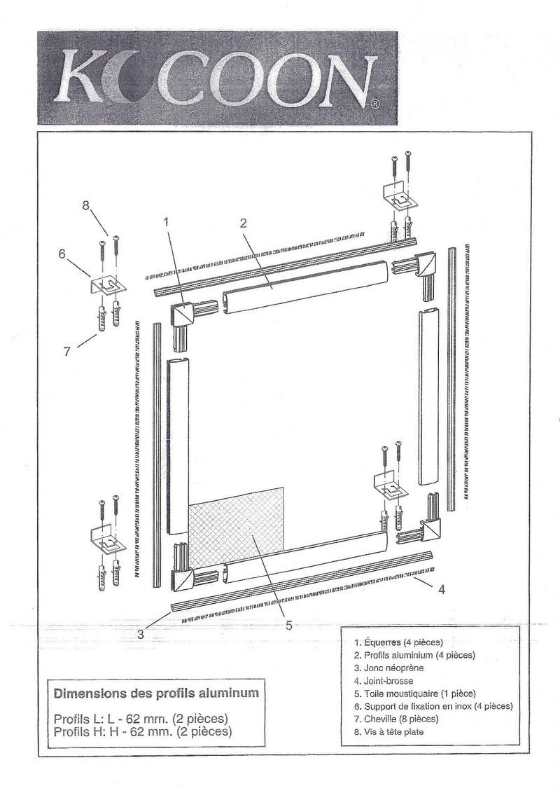 moustiquaire sans per age pour fen tre. Black Bedroom Furniture Sets. Home Design Ideas