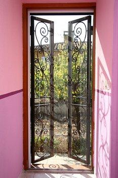 Moustiquaire de porte plissée